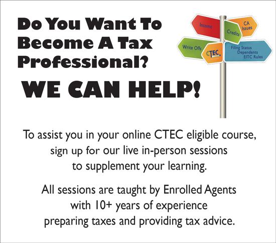 2019 CTEC Course Assistance