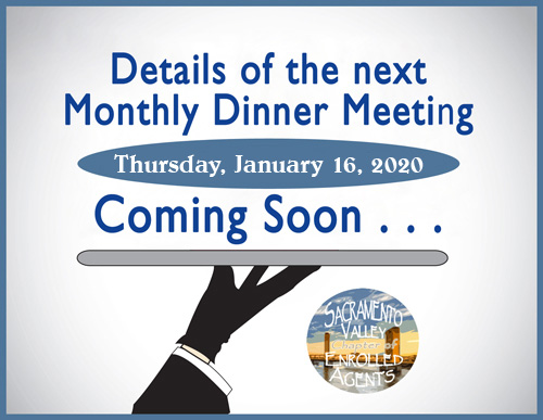 Next Monthly Meeting is 1/16/2020